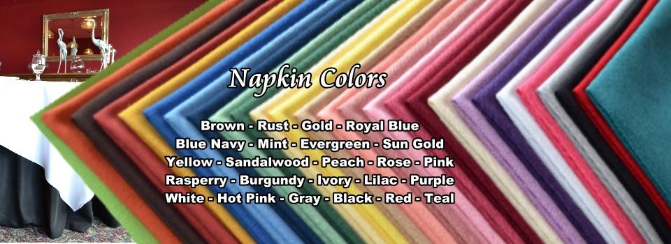 Napkin-Colors